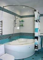 Карниз для асимметрической ванны 150*100см Комфорт