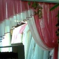 ламбрекен розовый