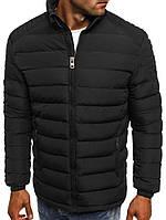 Куртка мужская зимняя черная, фото 1