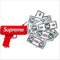 ✔️ Пистолет для денег Supreme (подарок на корпоратив, вечеринку, день рождения или фотосессию)