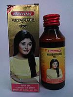 Махабрингарадж масло (100ml) преждевременное поседение или облысение, алопеция, зуд головы, беспокойство., фото 1