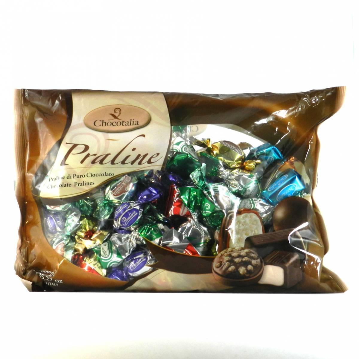 Шоколадные конфеты Chocotalia  praline АССОРТИ 1 кг, Италия