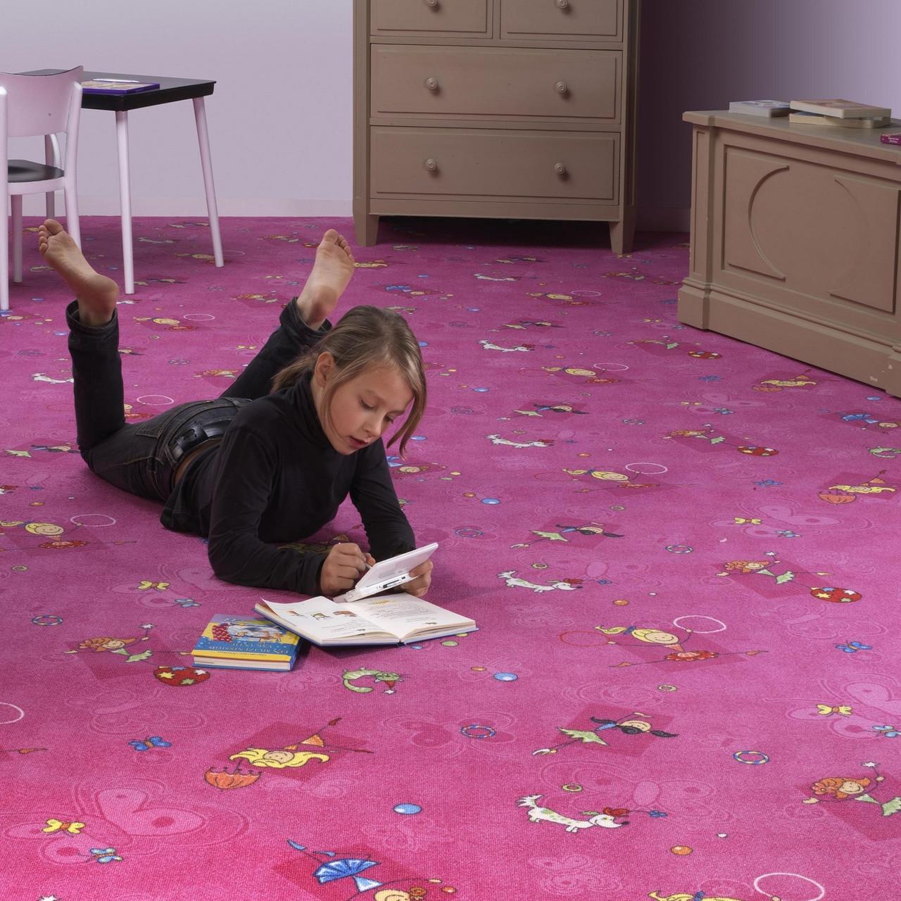 Детский ковер для девочки Хеппи 447