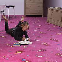Коврик в детскую комнату для девочки Хеппи 447