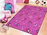 Коврик в детскую комнату для девочки Хеппи 447, фото 2