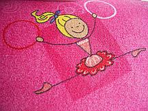 Коврик в детскую комнату для девочки Хеппи 447, фото 3