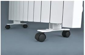 Підставки з коліщатками для підлогової установки електрорадіаторів «ОптиМакс» / комплект 2 шт