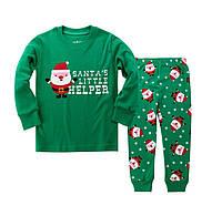 Пижама детская с новогодним принтом для мальчика