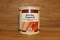 Масло с эффектом воска для паркета, Hardwax Parquet Oil 1030, темный орех (63), 1 litre, Borma Wachs