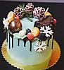 Торт новогодний без мастики, фото 6