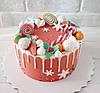 Торт новогодний без мастики, фото 8