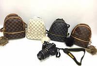 Стильный Рюкзак мини LV Louis Vuitton black  (реплика Луи Витон)