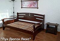 """Кровать полуторная """"Луи Дюпон Люкс"""". Массив - сосна, ольха, береза, дуб."""