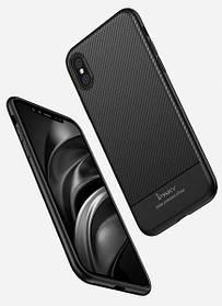 Чехол Ipaky Carbon Fiber для iPhone X