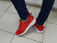 Кроссовки женские KLF красные