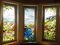 Печать на фальш окнах