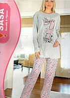ONUR пижама женская на байке туника +штаны  № 113