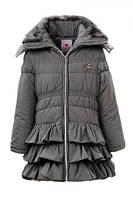 Детское зимнее пальто для девочки, рост 92 - 116, ТМ Glo-story GMA-2725 , фото 1