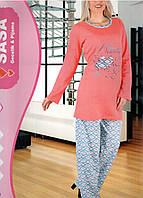 ONUR пижама женская на байке туника +штаны № 710