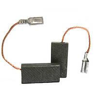 ✅ Щетки угольно-графитовые 5*8 мм (контакт - клемма «мама», длина провода - 32 мм, комплект - 2 шт)