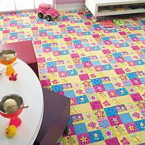 Ковер в цветочек в детскую Батерфляй, фото 2