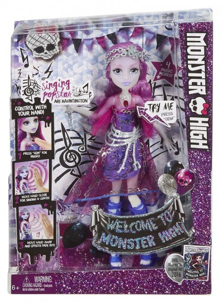 Кукла Monster High™ Sing Stardom Ari Hauntington (DYN97)