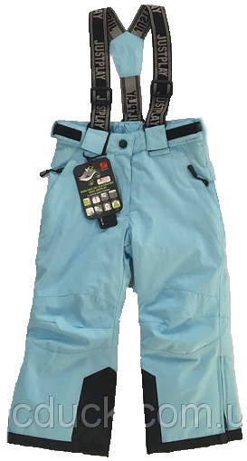 Лижні штани на дівчинку Just Play розмір 92/98-116/122