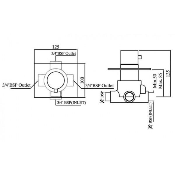 Jaquar FLR-CHR-5289