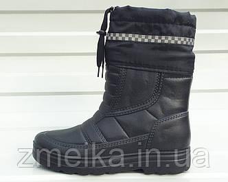 Мужские сапоги с утеплителем ПЕНА (ЭВА) черные