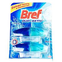 Ср-во чистящее «BREF»  Duo-Activ аром блок/гель для унитаза запаска 2*50 мл ассортимент