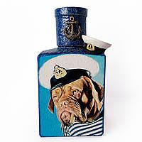 Графин для алкогольных напитков  в подарок мужчине моряку на день рождения новый год