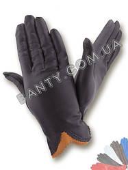 Женские перчатки без подкладки модель 002