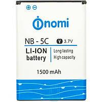 Аккумулятор для Nomi NB-5C (i182)