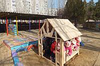 Домик для детской площадки
