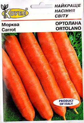 Семена моркови Ортолана 10г Коуел, фото 2