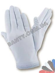 Женские перчатки без подкладки модель 005