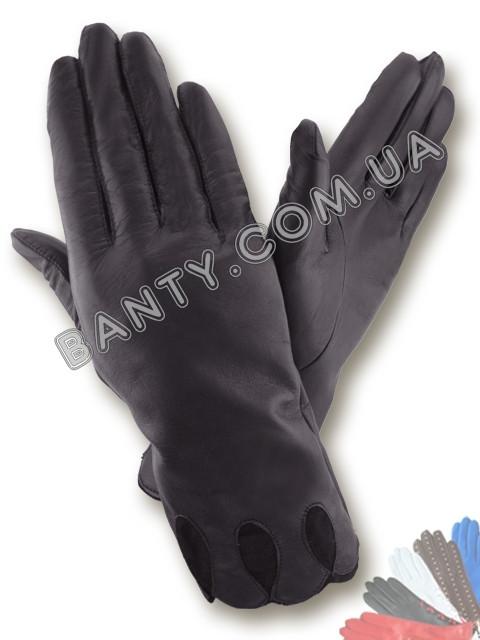 Женские перчатки без подкладки модель 009