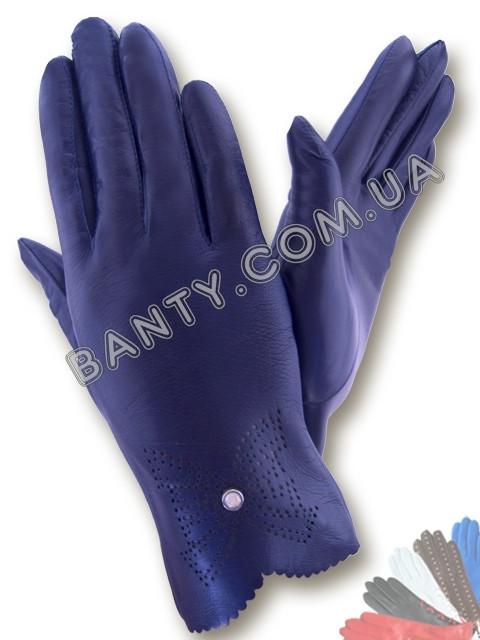 Женские перчатки без подкладки модель 010