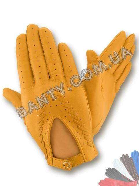 Женские перчатки без подкладки модель 014