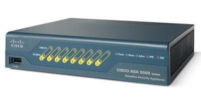 Межсетевые экраны ASA 5505 Appliance with SW, 10 Users, 8 ports, DES (ASA5505-K8)