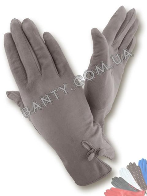 Женские перчатки без подкладки модель 044