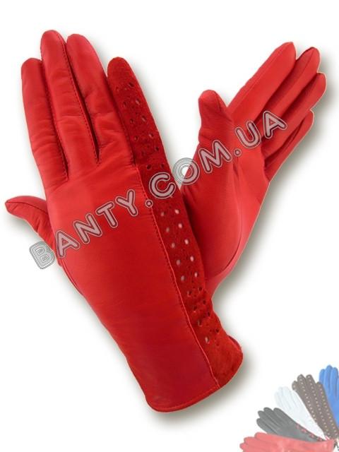 Женские перчатки без подкладки модель 053