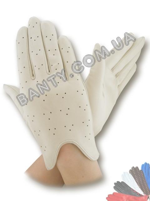 Женские перчатки без подкладки модель 060