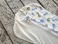 """Евро-пеленка на молнии""""Половинка""""+шапочка для новорожденных"""
