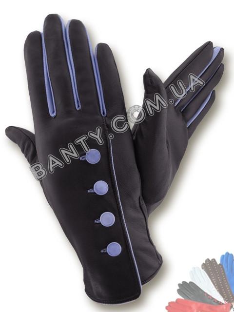 Женские перчатки без подкладки модель 074