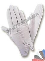 Женские перчатки без подкладки модель 082