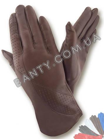 Женские перчатки без подкладки модель 083, фото 2