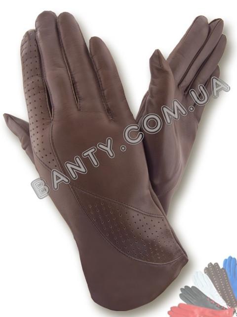 Женские перчатки без подкладки модель 083