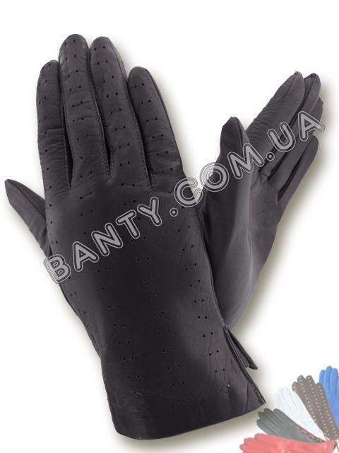 Женские перчатки без подкладки модель 087