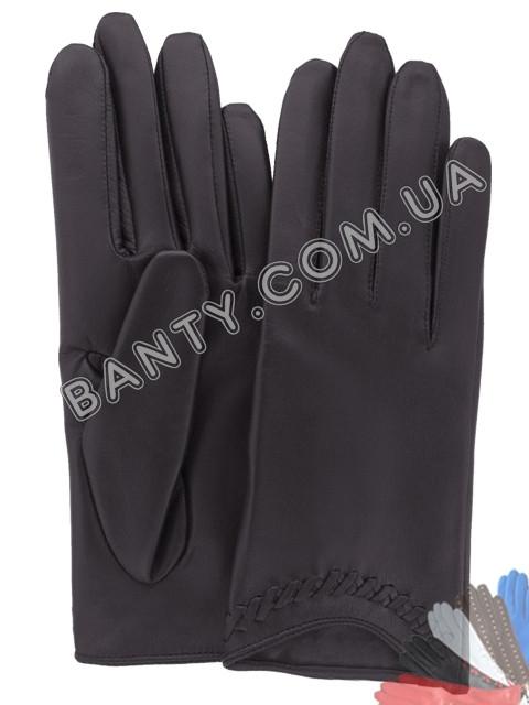 Женские перчатки без подкладки модель 115